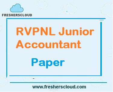 RVPNL Junior Accountant Previous Question Paper