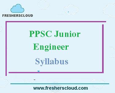 PPSC Junior Engineer Syllabus