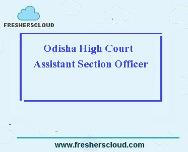 Odisha High Court Assistant Section Officer Question Papers