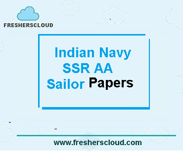 Indian Navy Sailor SSR AA Previous Question Papers