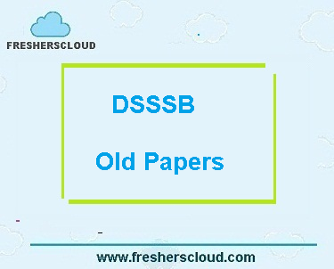 DSSSB Head Clerk Previous Question Papers PDF