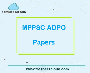 MPPSC ADPO Exam Previous Question Papers PDF
