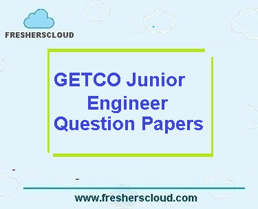GETCO Junior Engineer Previous Question Paper