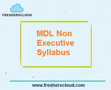MDL Non Executive Syllabus