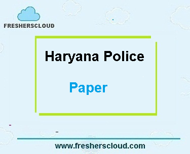 Haryana Police SI Previous Question Papers
