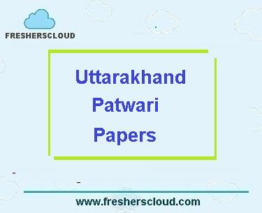 Uttarakhand Patwari Previous Question Papers
